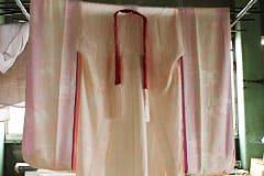 着物の日影干しのイメージ